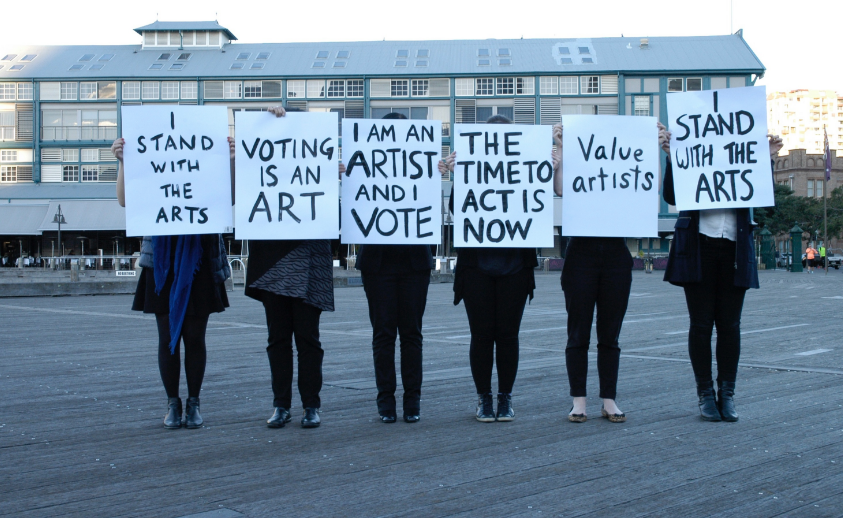 Support for the arts